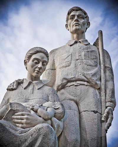 Monumento al jíbaro puertorriqueño.