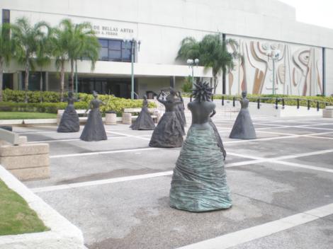 """Annex Burgos, """"Musas"""", proyecto de Arte Público para Puerto Rico."""