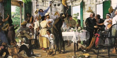 El Velorio, de Francisco Oller y Cestero