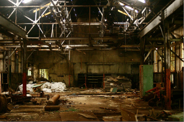 Myritza Catillo, 2006-2008, Post-industrial Dust