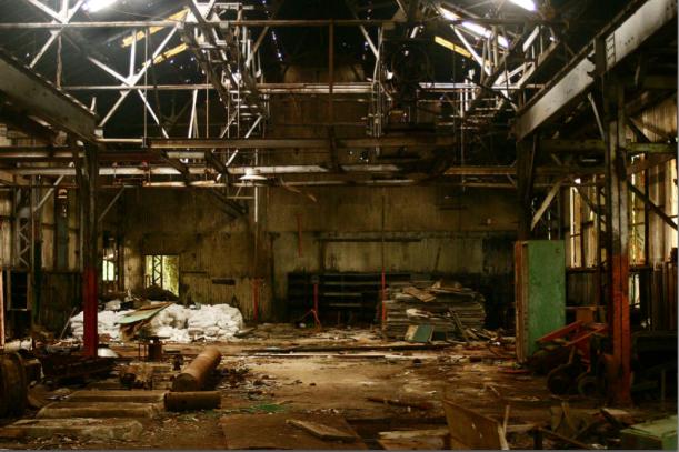 Myritza Catillo, 2006-2008, Post-industrial Dust